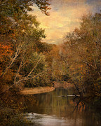 Autumn Landscape Art - A Place to Rest by Jai Johnson