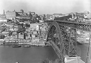 Decade Photo Framed Prints - A Portion Of Porto And Its Large Framed Print by W. Robert Moore