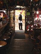 A Portrait Of A Bartender Print by Hiroko Sakai
