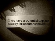 Words Background Photos - A Potential Fortune by Chris Berry