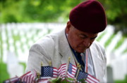 Korean War Memorial Photos - A Prayer for Paratroopers by Staci-Jill Burnley