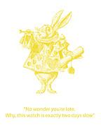 Georgia Fowler - A Punctual Rabbit