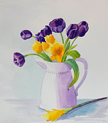 Jeanne Hall - A Quart of Tulips
