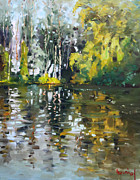 Ylli Haruni Prints - A Quiet Afternoon Reflection Print by Ylli Haruni