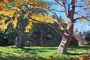 Autumn Colors Originals - A Quiet Fall Afternoon by Ylli Haruni