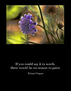 Inspirational Poster Framed Prints - A Reason to Paint Framed Print by Bonnie Bruno