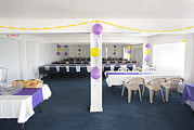 Banquet Photos - A Room Prepared For A Social Event by Will and Deni McIntyre