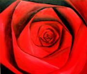File Paintings - A rose for me by Jennifer  Blenkinsopp