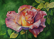 Donna Pierce-clark Art - A Rose for You by Donna Pierce-Clark