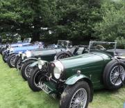 Dawn Hay - A Row of Bugatti