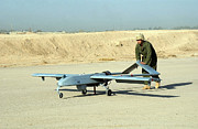 Airfield Prints - A Rq-7 Shadow 200 Tactical Unmanned Print by Stocktrek Images