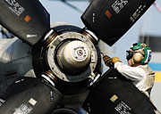 Electronics Photos - A Sailor Performs Maintenance by Stocktrek Images