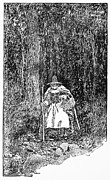 Trial Art - A Salem Witch, 1692 by Granger
