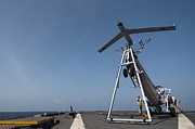 Flight Deck Posters - A Scan Eagle Unmanned Aerial Vehicle Poster by Stocktrek Images