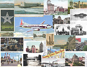 Plane Mixed Media Metal Prints - A Sense of Place Metal Print by Eric Edelman