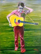 Bob Dylan Paintings - A Series of Dreams by Natasha Laurence