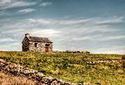 Country Cottage Photos - A Shack on the Aran Islands by Natasha Bishop