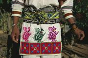 Madre Prints - A Shot Of A Huichol Mans Traditional Print by Maria Stenzel