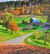 Vermont Photos - A Sleepy Hollow Autumn by Thomas Schoeller