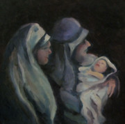 Christ Child Framed Prints - A Son is Given Framed Print by Wendie Thompson