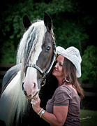 Horse Portrait Photos - A Special Moment Indeed by Terry Kirkland Cook