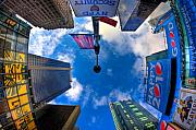 Times Square Art - A Square Perception by Joshua Ball