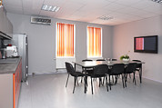 Manufacturing Photos - A Staff Room A Lunch Room With A Small by Jaak Nilson