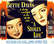 Fod Prints - A Stolen Life, Glenn Ford, Bette Davis Print by Everett