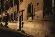 Scenes Of Italy Framed Prints - A Street In Rome Displays Renaissance Framed Print by Marc Moritsch