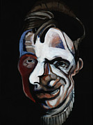 Spokane Painting Framed Prints - A Study for a Portrait of Francis Bacon II Framed Print by Ryan Babcock