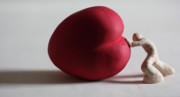 Love Sculpture Prints - A Study for my first Sculpture Print by Chris Mackie