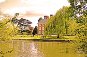 Enfield Prints - A summers Afternoon at Forty hall Print by Michael Ambrose