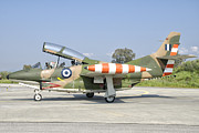 Airfield Prints - A T-2 Buckeye Of The Hellenic Air Force Print by Giovanni Colla