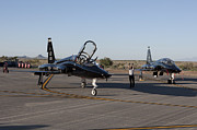T-38 Talon Posters - A T-38 Pilot Prepares To Taxi Poster by HIGH-G Productions
