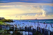 Destin Prints - A Taste of Heaven Print by David Morefield