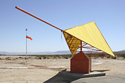 Wind Vane Photos - A Tetrahedron Wind Direction Indicator by Stocktrek Images