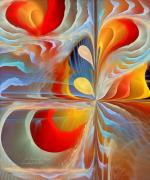 Fractal Pastels - A Time of Magic by Gayle Odsather