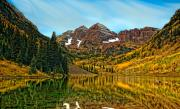 Maroon Bells Posters - A Timeless Memory Poster by Tim Reaves