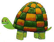 Tortoise Digital Art - A Tortoise by David Barneda