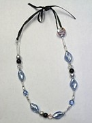 White Pearl Jewelry - A Touch of Glass by Leeah Borner