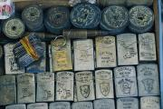 Coins Art - A Tray Full Of War Memorabilia by Steve Raymer