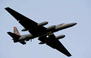 Dragon Lady Prints - A U-2 Dragon Lady Takes Off From Osan Print by Stocktrek Images