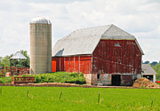 Corn Crib Photo Posters - A Unique Barn Poster by Wayne Stabnaw