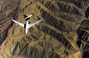 Afghanistan Photo Posters - A U.s. Air Force E-3 Sentry Aircraft Poster by Stocktrek Images