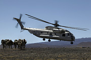 Battleground Prints - A U.s. Marine Corps Ch-53d Seahawk Print by Stocktrek Images