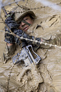 Survival Prints - A U.s. Marine Participates Print by Stocktrek Images