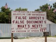 Free Speech Photos - A Very Funny Sign by Carl Purcell