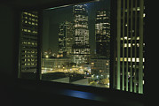 Commercial Structures Framed Prints - A view from a hotel room Framed Print by Taylor S. Kennedy