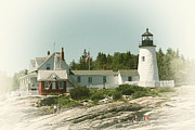 Pemaquid Posters - A View From the Water Poster by Karol  Livote