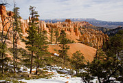 Southwest Us Framed Prints - A View Into The Bryce Canyon Framed Print by Taylor S. Kennedy
